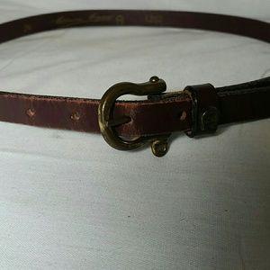 Etienne Aigner vintage  oxblood belt.     Sz 24